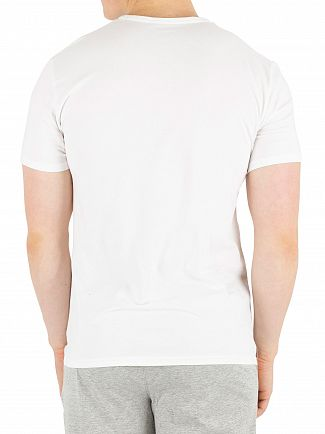 Calvin Klein White CK One Branded Pyjama Top