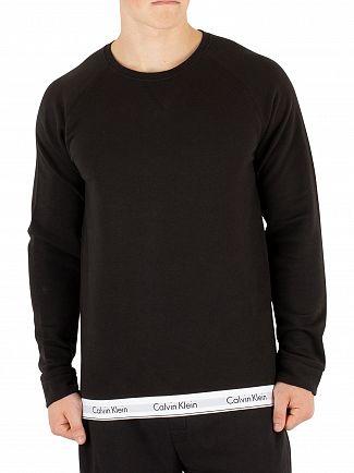 Calvin Klein Black Loungewear Sweatshirt