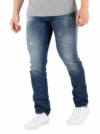 Jack & Jones Blue Denim Glenn Original 118 Jeans