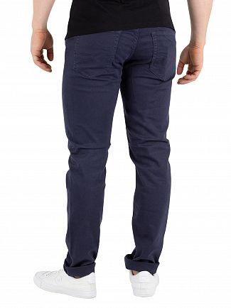 Jack & Jones Navy Glenn Original 696 Jeans