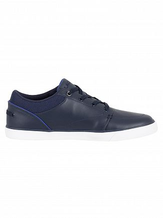 Lacoste Navy/Dark Blue Bayliss 318 2 CAM Trainers