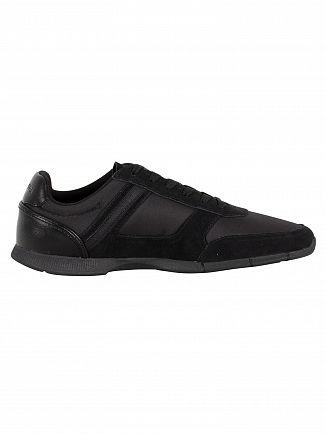 Lacoste Black/Red Menerva Sport 318 1 CAM Trainers