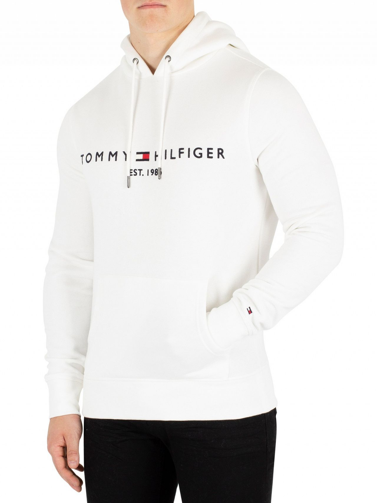 e85b9055ab9164 Tommy Hilfiger Snow White Pullover Hoodie