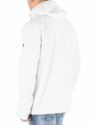 Tommy Jeans Classic White Logo Pullover Zip Jacket