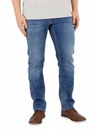 Tommy Jeans Jacbo Mid Blue Slim Fit Scanton Jeans