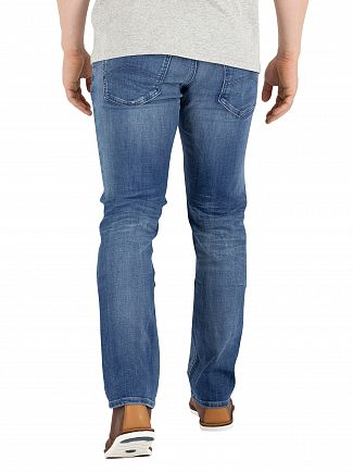 Tommy Jeans Jacob Mid Blue Dynamic Stretch Slim Fit Scanton Jeans