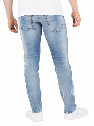 Tommy Jeans Jacob Light Blue Dynamic Stretch Slim Fit Scanton Jeans