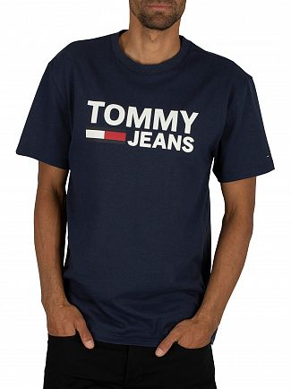 Tommy Jeans Black Iris Tommy Classics T-Shirt