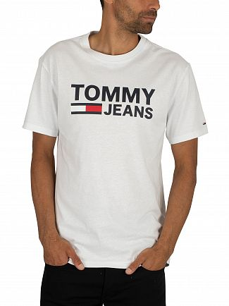 Tommy Jeans Classic White Tommy Classics T-Shirt