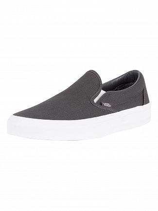 Vans Asphalt Classic Slip-On Mono Canvas Trainers