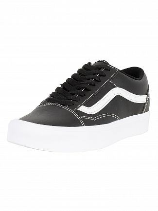 Vans Black/True White Old Skool Lite Classic Tumble Trainers