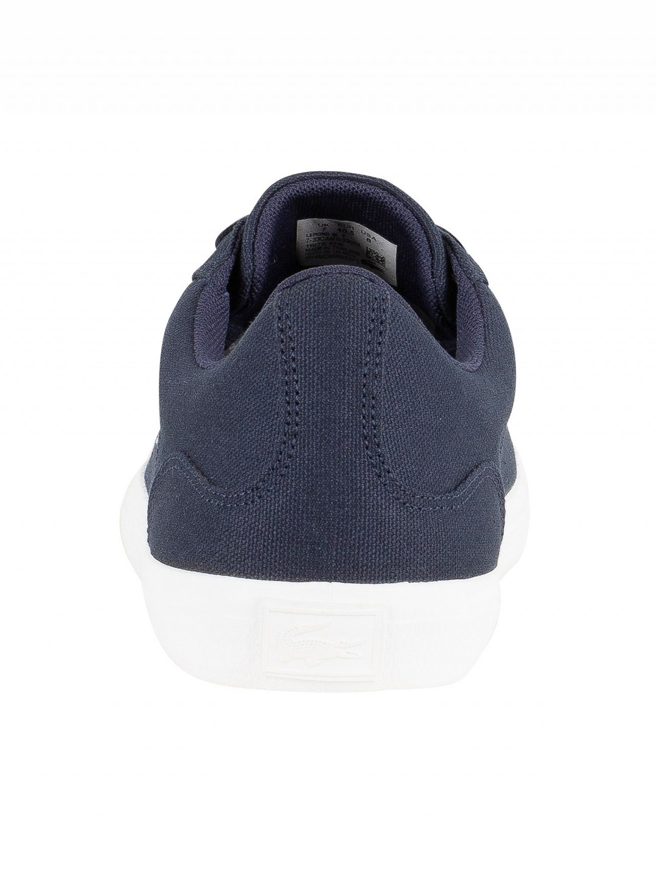 ed2ee0e799fb Lacoste Navy Lerond BL 2 CAM Trainers