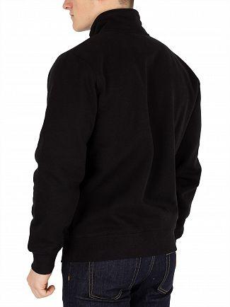 Carhartt WIP Black/Gold Chase Highneck Sweatshirt