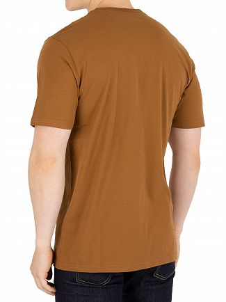 Carhartt WIP Hamilton Brown Pocket T-Shirt