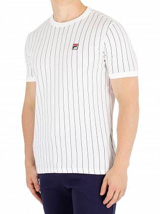 Fila Vintage White/Peacoat Guilo T-Shirt