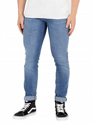 G-Star Medium Vintage Aged 3301 Deconstructed Skinny Jeans