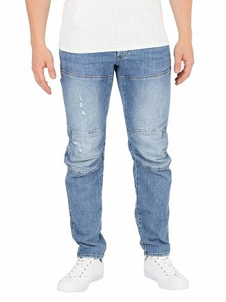 G-Star Light Aged Heavy Stone 5620 3D Slim Jeans