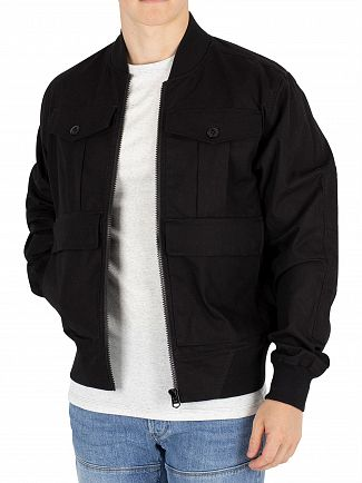 G-Star Dark Black Rackam Army Bomber Jacket