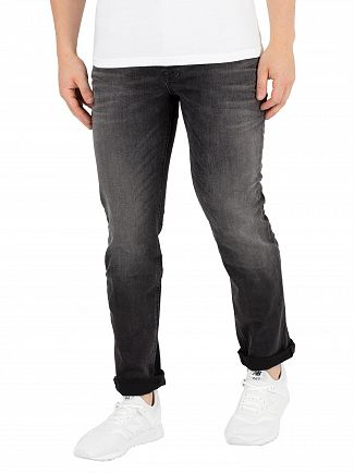 Jack & Jones Black Denim Tim 709 Slim Fit Jeans