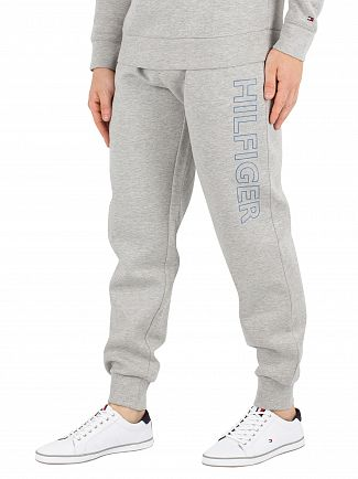 Tommy Hilfiger Grey Heather Logo Joggers