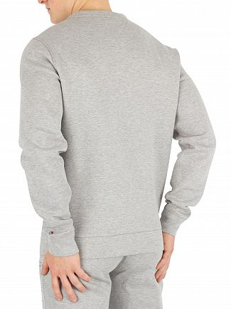 Tommy Hilfiger Grey Heather Outline Logo Sweatshirt