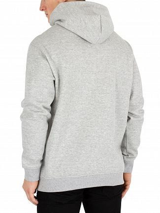 Tommy Jeans Light Grey Heather Classic Pullover Hoodie