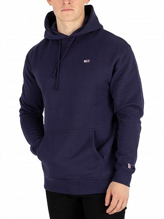 Tommy Jeans Black Iris Classic Pullover Hoodie