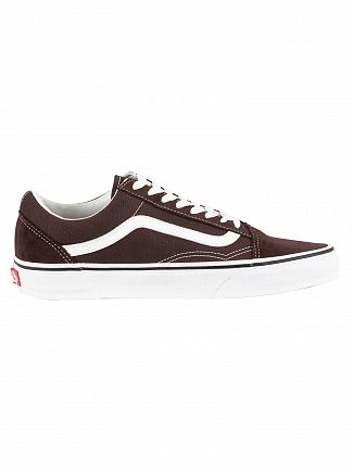 Vans Chocolate Torte/True White Old Skool Trainers