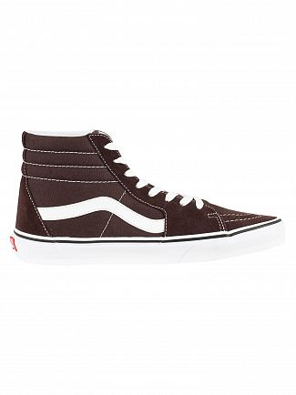 Vans Chocolate Torte/True White Sk8-Hi Trainers