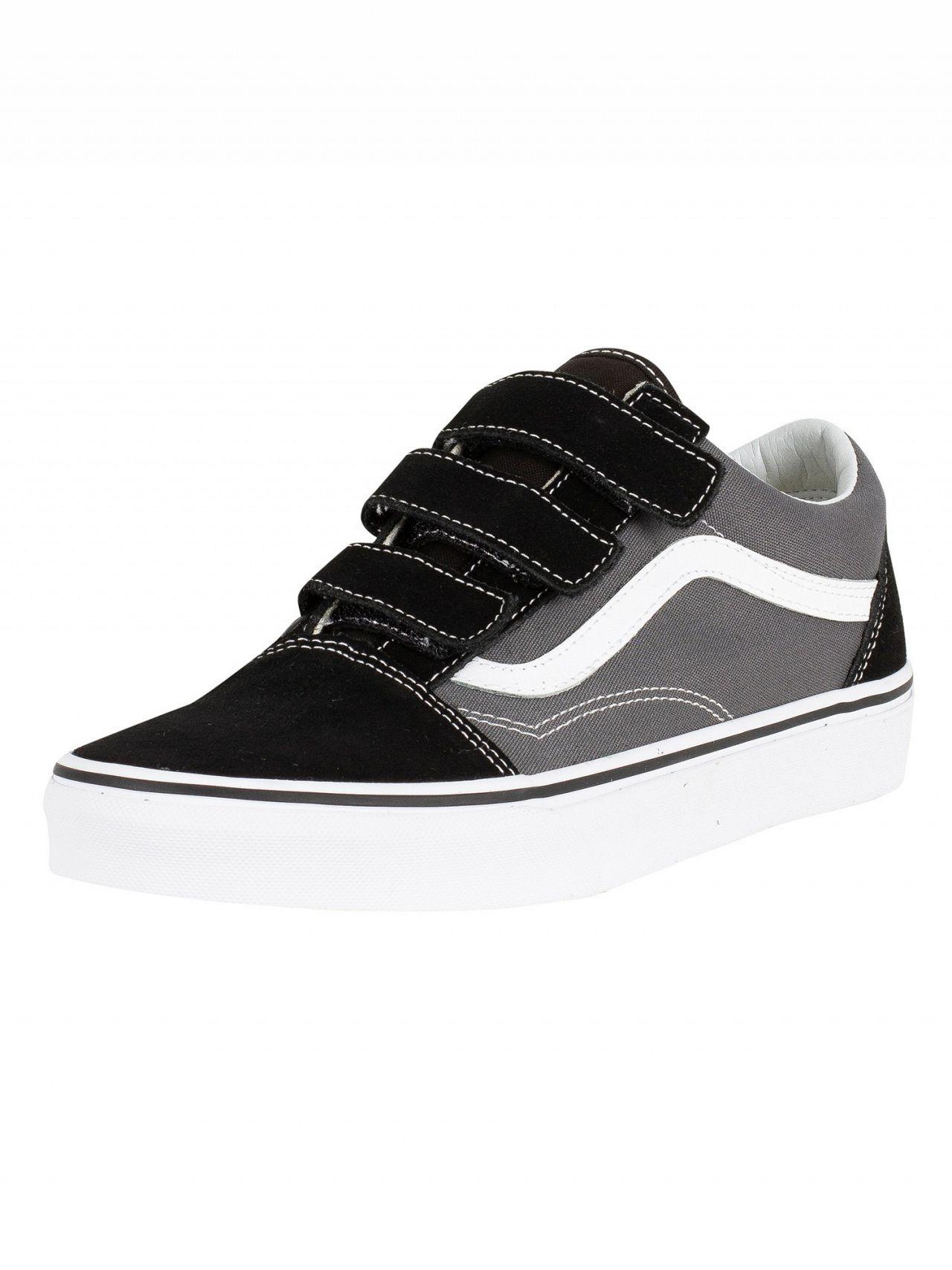 07d721799e673c Vans Pewter Black Old Skool V Trainers