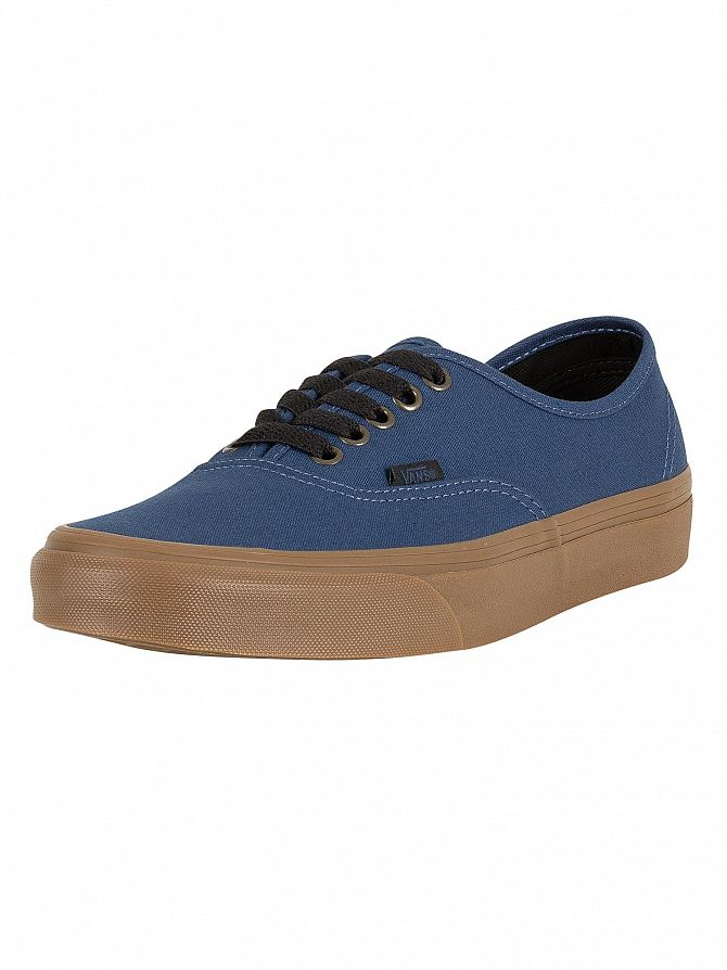 Vans Dark Denim Authentic Gum Outsole Trainers