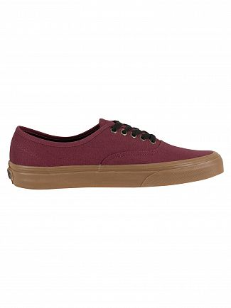 Vans Catawba Grape Authentic Gum Outsole Trainers
