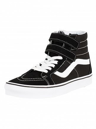 Vans Black/True White Sk8-Hi Reissue V Trainers