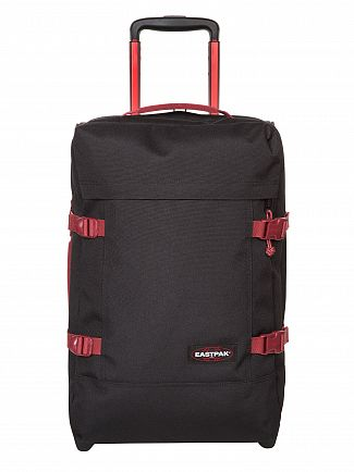 Eastpak Black/Red Tranverz Cabin Luggage Case