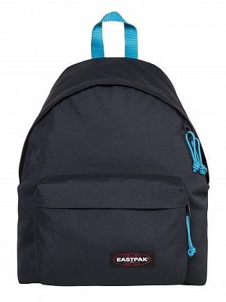 Eastpak Navy/Aqua Padded Pak'R Backpack