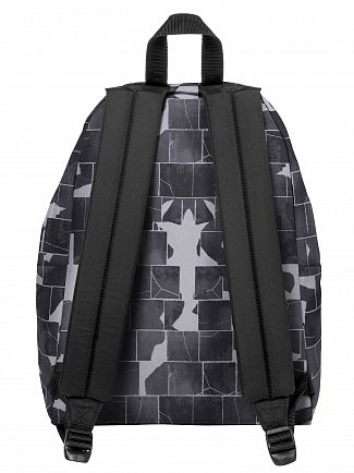 Eastpak Cracked Dark Padded Pak'R Backpack