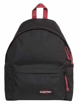 Eastpak Black/Red Padded Pak'R Backpack
