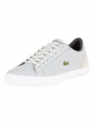Lacoste Light Grey/Dark Grey Lerond 318 3 CAM Trainers