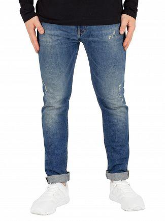 Calvin Klein Jeans Looper Blue Modern Classics Skinny Jeans