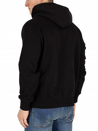 Carhartt WIP Black/White Graphic Pullover Hoodie
