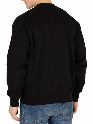 Carhartt WIP Black Graphic Sweatshirt