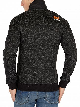 Superdry Gritty Black Storm Track Jacket