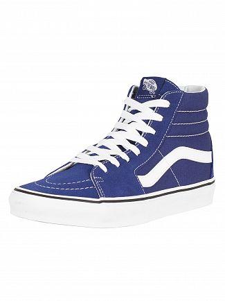Vans Estate Blue/True White Sk8-Hi Trainers