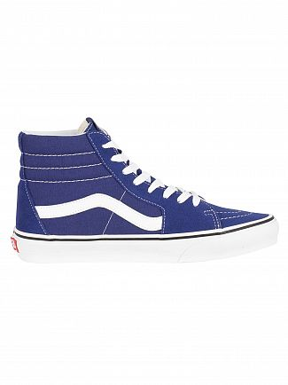 Vans Estate Blue/True White Sk8-Hi Trainers