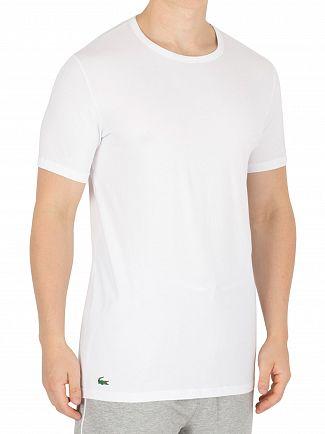 Lacoste White 2 Pack Slim T-Shirt
