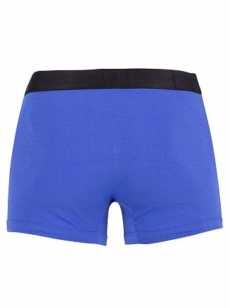 Lacoste Green/Navy/Blue 3 Pack Trunks