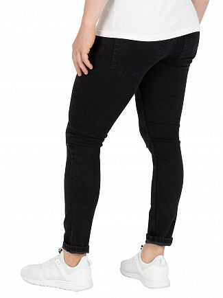 Jack & Jones Black Denim Liam Original 002 Skinny Jeans