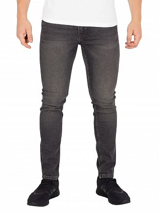 Jack & Jones Grey Denim Liam Original 007 Skinny Jeans
