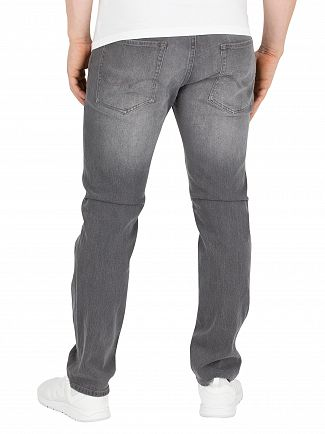 Jack & Jones Grey Denim Tim Original Slim 067 Jeans
