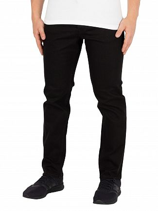 Jack & Jones Black Denim Tim Original Slim 068 Jeans